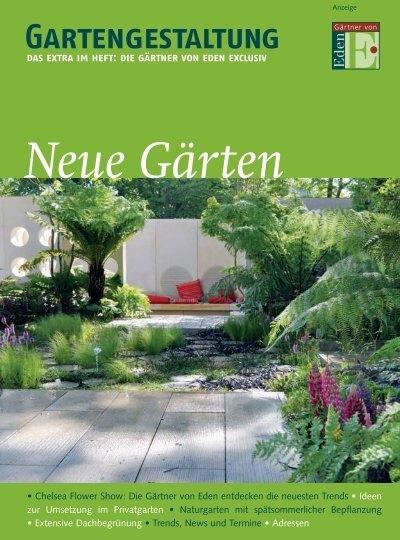 Neue Garten Gartengestaltung Das Extra Im Heft Grutters Gmbh