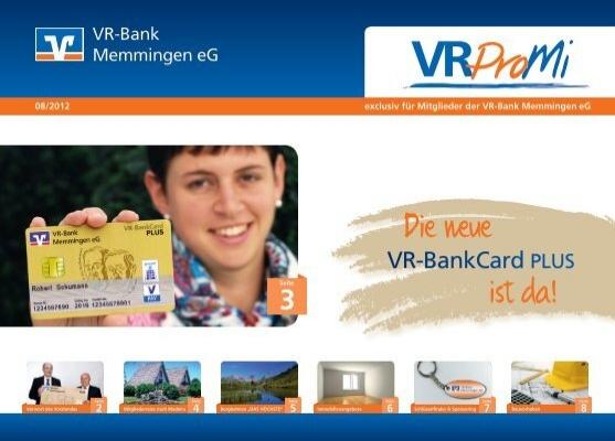 Schlüsselfundservice Wettbewerb ... - VR-Bank Memmingen eG on