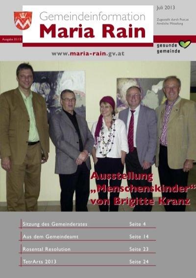 Online partnersuche maria rain Mitterdorf im mrztal single