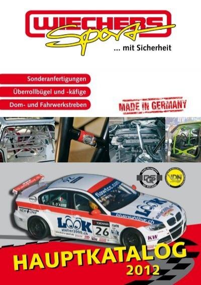 Wiechers 511034 Domstrebe Stahl vorne oben für VW Polo 9N