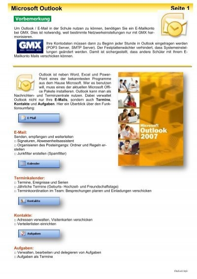 Outlook Info Pdf Lehrer Homepages