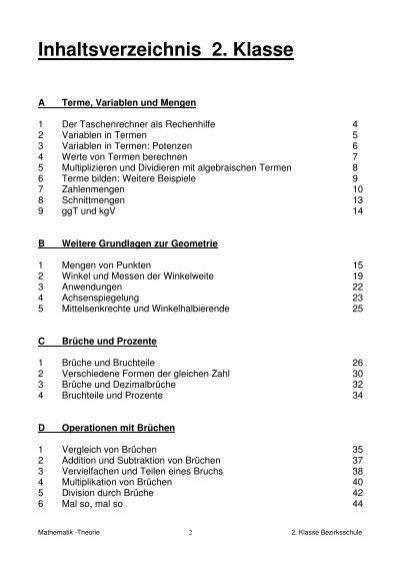 Ungewöhnlich Algebraische Ausdrücke Einer Tabelle 8. Klasse Fotos ...