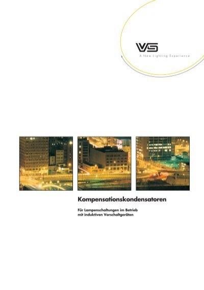 Vossloh Schwabe VS Kondensator MKP Leuchten Lampen Schraubklemme Mutter