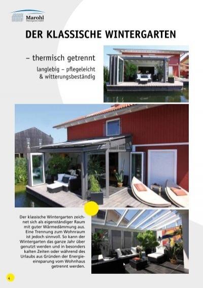 marohl wintergarten, der klassische wintergart, Design ideen