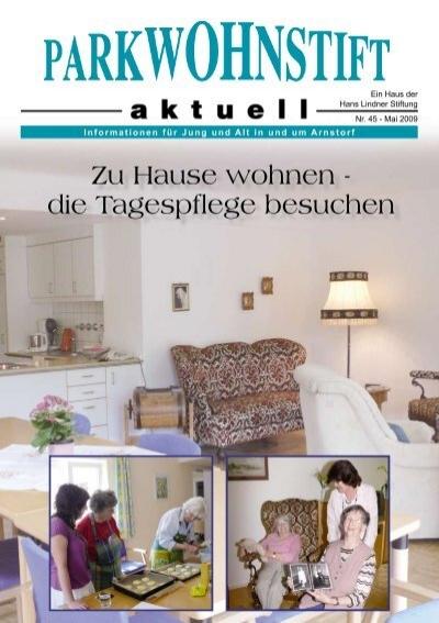 Zu Hause Wohnen Die Tagespflege Besuchen Parkwohnstift Arnstorf