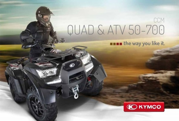 quad atv 50 700 kymco. Black Bedroom Furniture Sets. Home Design Ideas