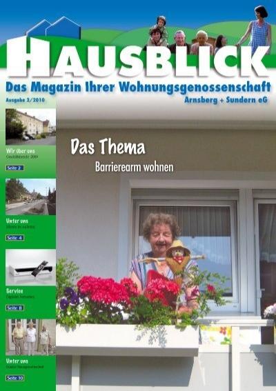 Unter Uns Arnsberger Wohnungsbaugenossenschaft Eg