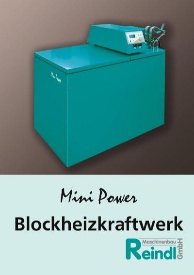 mini power blockheizkraftwerk. Black Bedroom Furniture Sets. Home Design Ideas