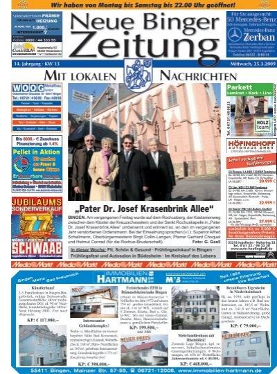 Pater Dr Josef Krasenbrink Allee Neue Binger Zeitung