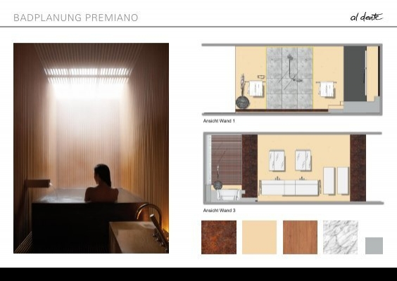 badplanung premiano. Black Bedroom Furniture Sets. Home Design Ideas