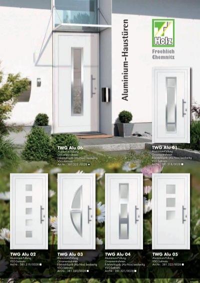1061newsletter alu haustueren thalhofer. Black Bedroom Furniture Sets. Home Design Ideas