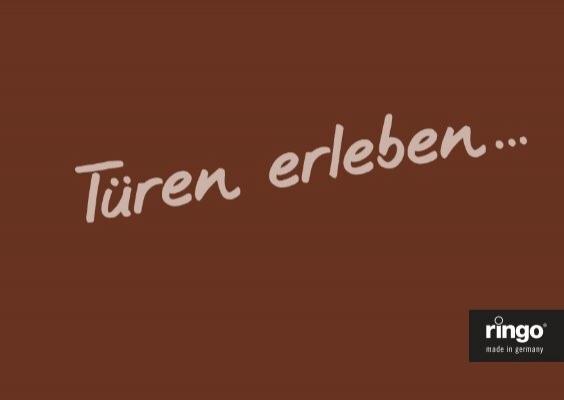 Ringo Türblatt Weißlack mit Lichtausschnitt eckiger Kante TE 211,0 cm Höhe