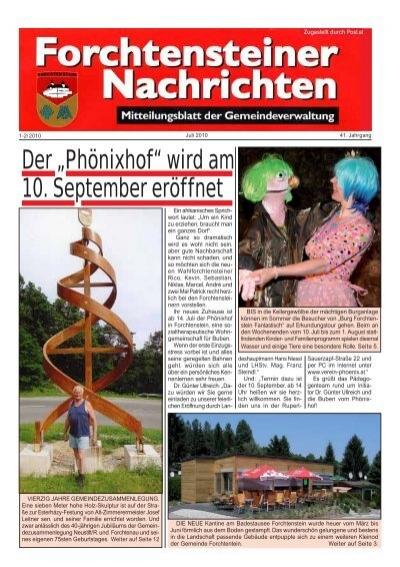 Musikverein Forchtenstein - Startseite