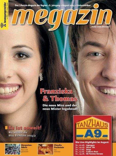 Das Lifestyle Magazin Der Region 8 Jahrgang August 2003