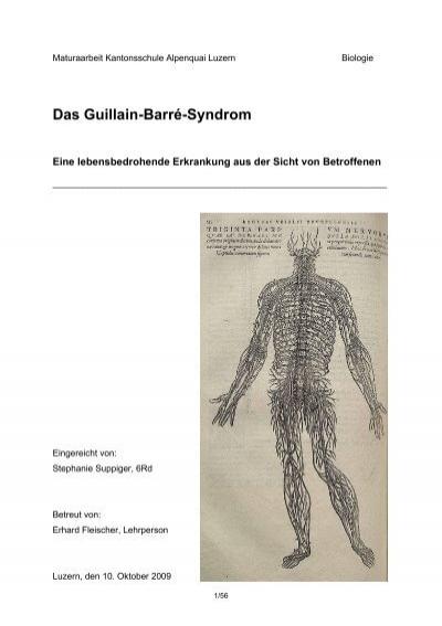 guillain barre syndrome pdf usu