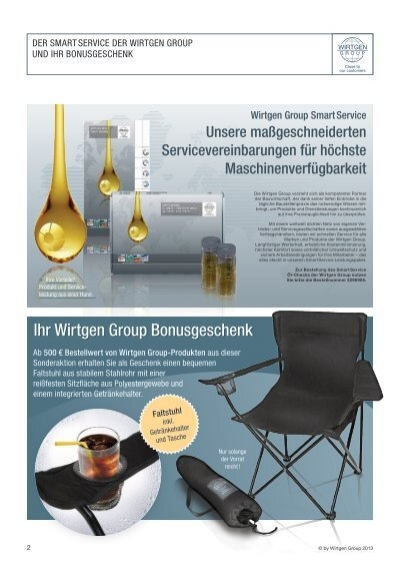sonderaktion ersatzteile sommer 2013 wirtgen group. Black Bedroom Furniture Sets. Home Design Ideas