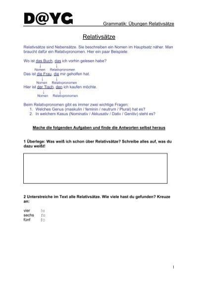 relativstze young germany - Relativsatze Beispiele