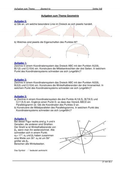 Awesome Geometrie Spezielle Rechtwinklige Dreiecke Arbeitsblatt ...