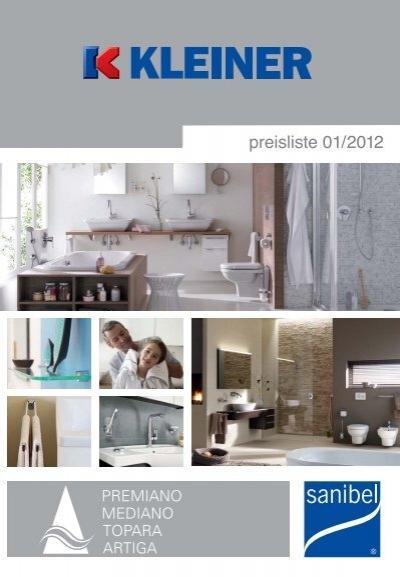 download der sanibel gesamt preisliste 2012. Black Bedroom Furniture Sets. Home Design Ideas