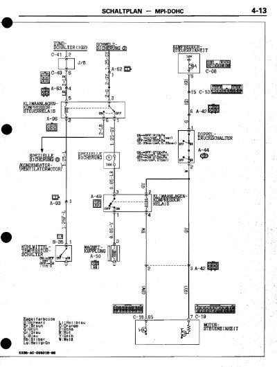 SCHALTPLAN MPI.DOHC 4-13Z