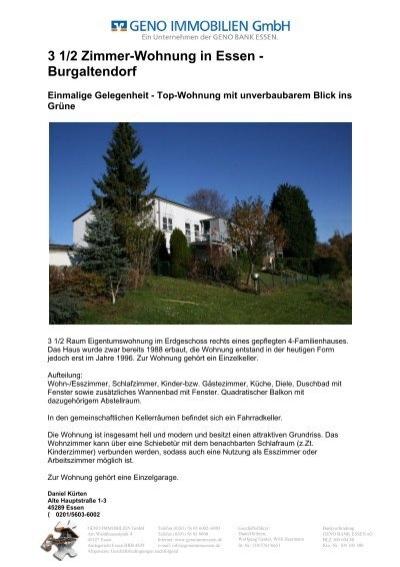 3 1 2 zimmer wohnung in essen burgaltendorf geno. Black Bedroom Furniture Sets. Home Design Ideas