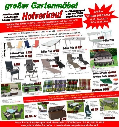 gro er schlussverkauf saisonfinale ab. Black Bedroom Furniture Sets. Home Design Ideas