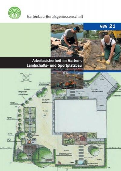 arbeitssicherheit im garten landschafts und sportplatzbau. Black Bedroom Furniture Sets. Home Design Ideas