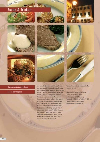 Restaurants In Augsburg Und Umgebung Pdf Uebernacht Hostel