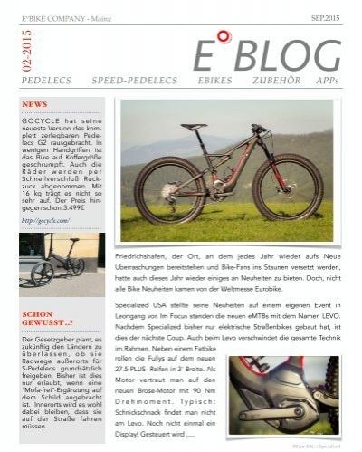eblog e bike company mainz. Black Bedroom Furniture Sets. Home Design Ideas