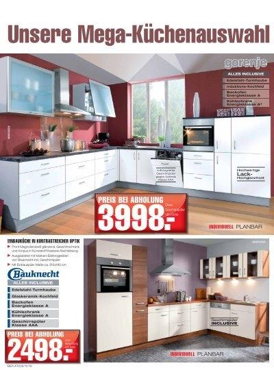 unsere mega k chenauswah. Black Bedroom Furniture Sets. Home Design Ideas