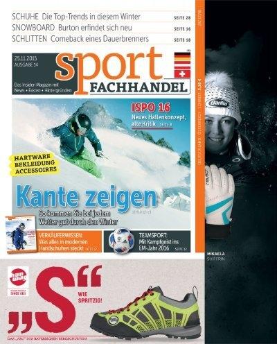 sportFACHHANDEL 14_2015 Leseprobe