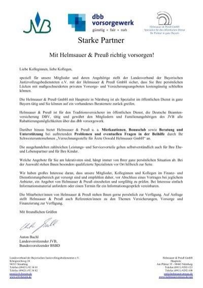 Empfehlungsschreiben JVB - Helmsauer & Preuß GmbH