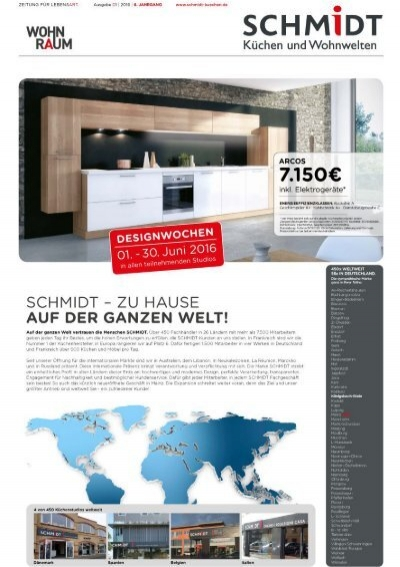 schmidt k chen aktuell koblenz designwochen. Black Bedroom Furniture Sets. Home Design Ideas