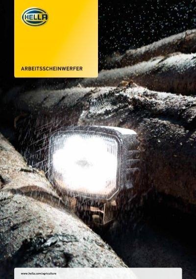 Arbeitsscheinwerfer für Beleuchtung HELLA 1GA 996 161-281