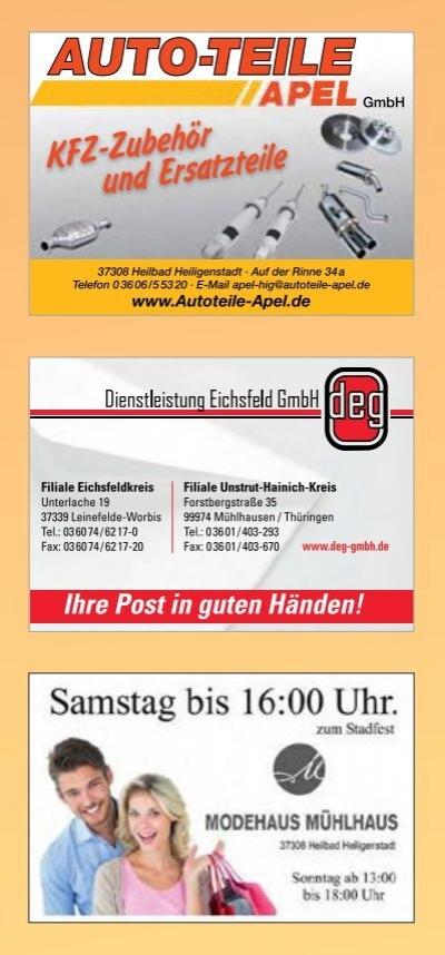 deutsche post filiale heilbad heiligenstadt