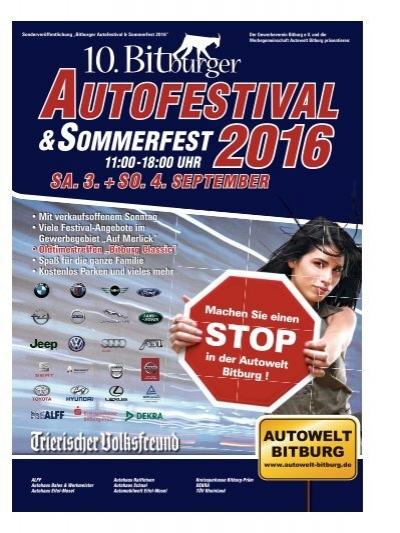 10 bitburger autofestival sommerfest 2016. Black Bedroom Furniture Sets. Home Design Ideas