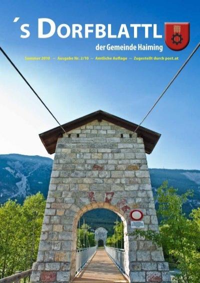 Stadt partnersuche aus haiming Wolfsberg kleinanzeigen sie
