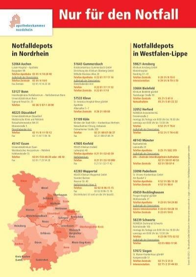 gelbe tafel apothekerkammer nordrhein