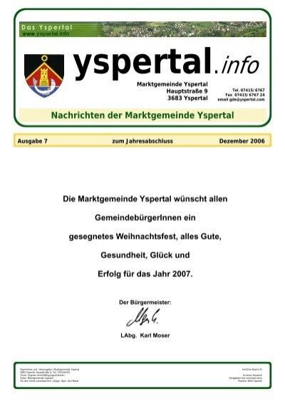 Gemeinde planen - HLUW Yspertal