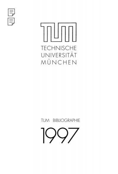 Technische Universitat Munchen Tum