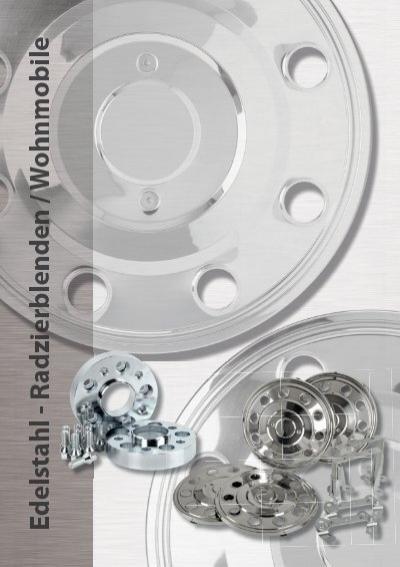 """2x Radzierblenden 17,5/"""" gewölbt Vorderachse IVECO Radkappen LKW  Wohnmobil Caps"""