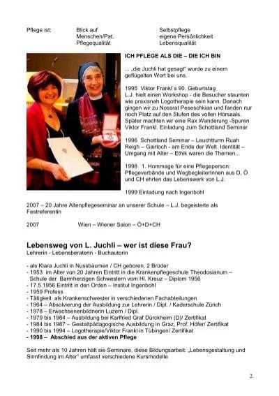 Arbeitsblätter Zu Juchli Pflege : Pflege ist blick auf sel