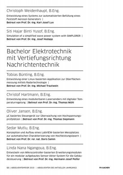 Christoph Weidenhaupt, B.