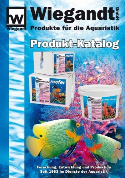 Katalog download pdf 3 24 mb wiegandt gmbh for Aquaristik katalog