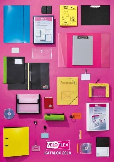 6x A5 VELOFLEX Sammelbox Heftbox VELOBAG® farblich sortiert Querformat 1450402