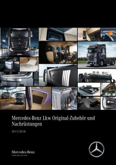 Klassik ANTHRAZIT Fußmatten Mercedes Atego 1998-...