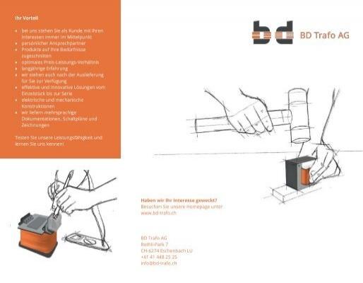 Image Broschüre BD Trafo AG