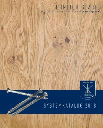 auch Hart- und Thermoh/ölzer auf Holz Holzterrasse 5,0 SIHGA 5,0 x 100 mm | 200 St/ück Befestigung aller H/ölzer L-GOFIX/® MS Terrassenmontage
