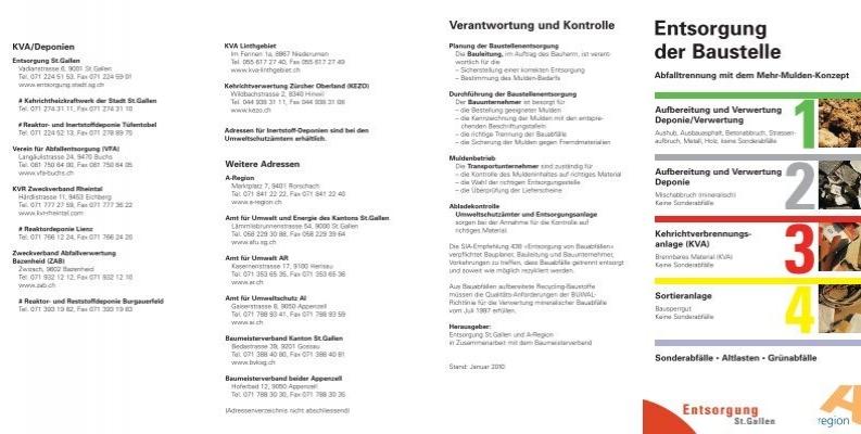 Entsorgung der baustelle 470 kb pdf stadt st gallen kanton - Mobel entsorgung gratis ...