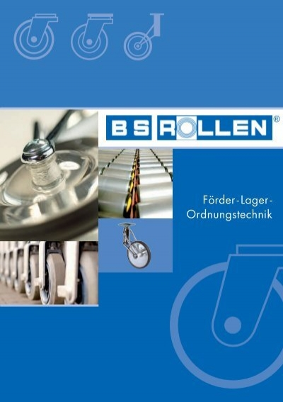 Gleitlager /Ø 100 mm Radk/örper Kunststoff BS Rollen A80.100 Gummirad blaugrau